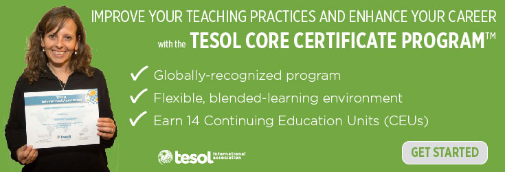 TESOL Core Certificate Program