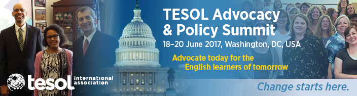 2017 TESOL Advocacy and Policy Summit