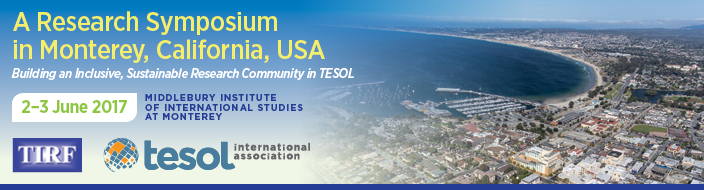 TESOL Research Symposium Banner