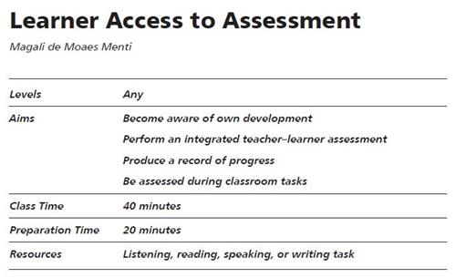Learner Access to Assessment