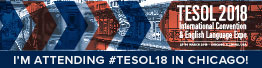 TESOL18 Attending Email Signature