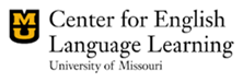 UM Center for English Language Learning Logo