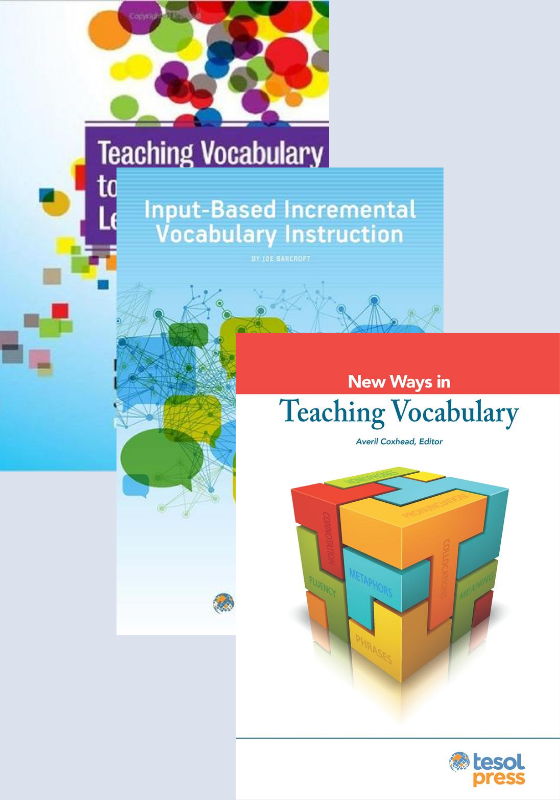 Teaching Vocabulary Bundle (Paper)