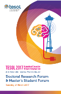 2017 Doctoral and Master's Student Forum Program