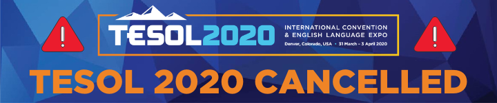 2020 Convention cancelled website banner