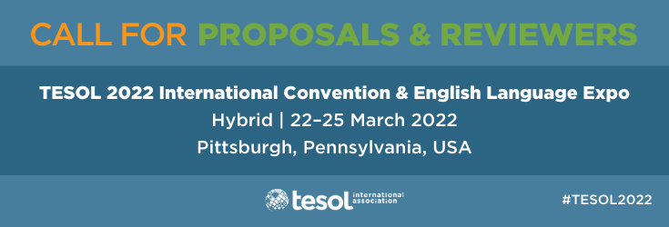 TESOL 2022 Call for Proposals