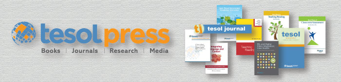 TESOL Press Web Banner